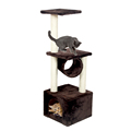 Pawz Road Domestic Delivery H110cm Novel Design Cat Climbing Funny Toys Scratching Solid Wood for Cat