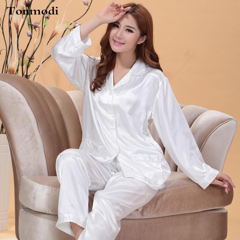 Popular Silk Pajamas Ladies-Buy Cheap Silk Pajamas Ladies lots ...