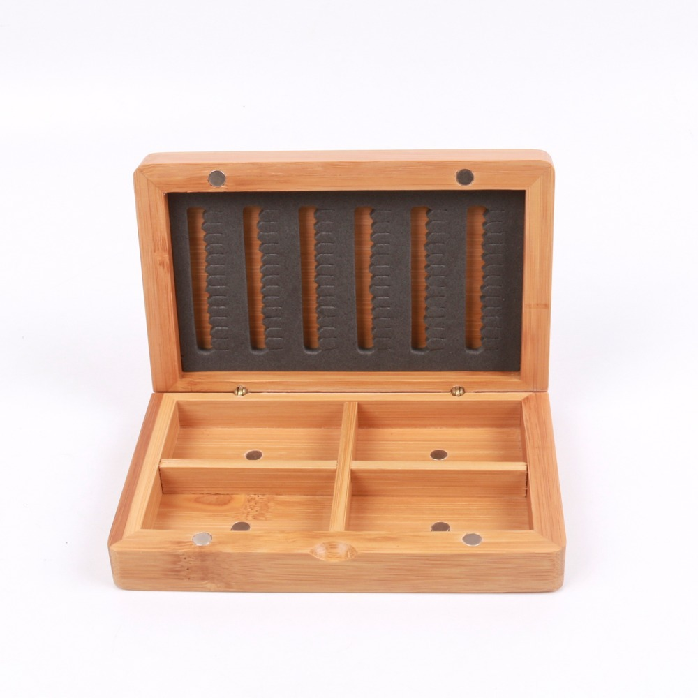 Popular bamboo fly box buy cheap bamboo fly box lots from for Fly fishing box