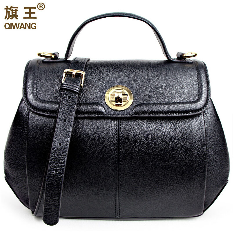 The new 2015 leather women bags goat grain head layer cowhide single shoulder bag restoring ancient ways <br><br>Aliexpress