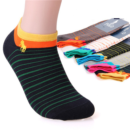 5 Pairs/Lot High Quality 2015 Summer Casual Men's Socks Cotton Calcetines Brand Polo Socks Sport Short Socks Meias Masculinas(China (Mainland))