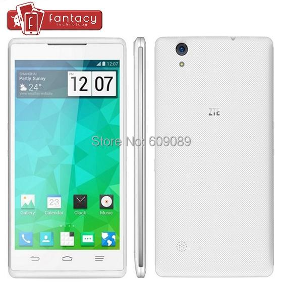 Original ZTE Q705U MTK6582 Quad Core 1.3GHz Android 4.2 WCDMA 3G 1GB RAM 4GB ROM 5.7'' 1280X720P HD IPS 5.0MP 2500mAh Cell Phone(China (Mainland))