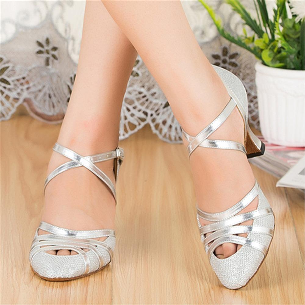 Silver Dance Heels | Tsaa Heel