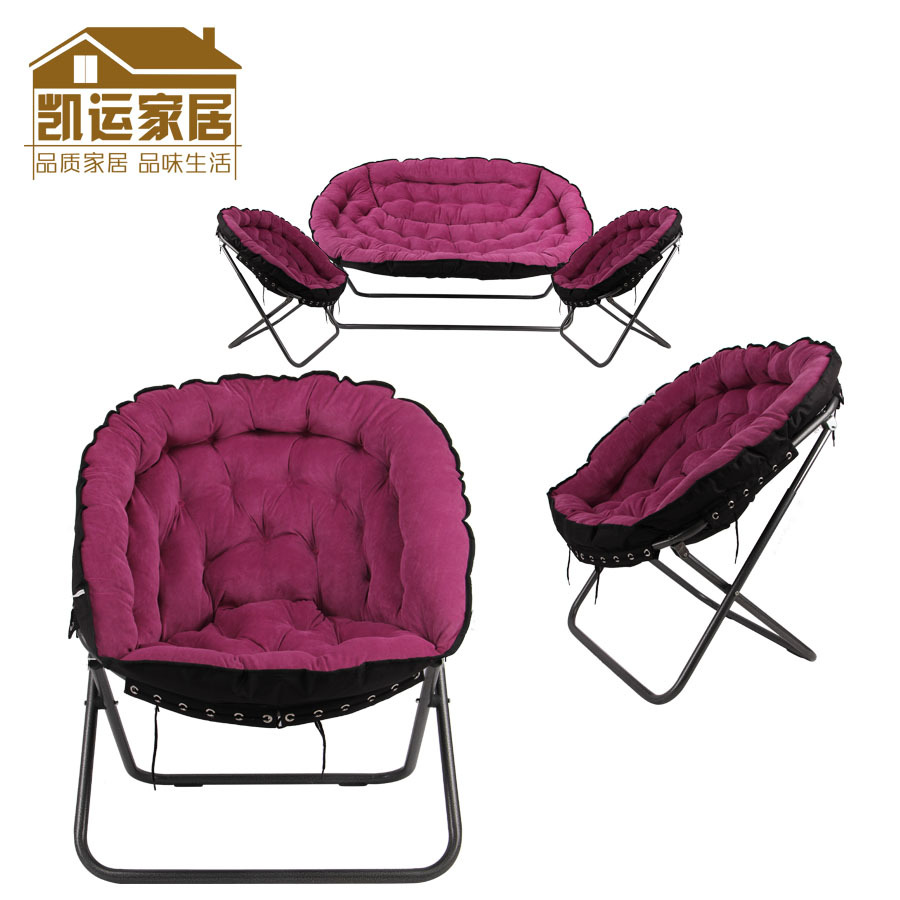 chair folding chair leisure chair bedroom comfortable recliner chairs