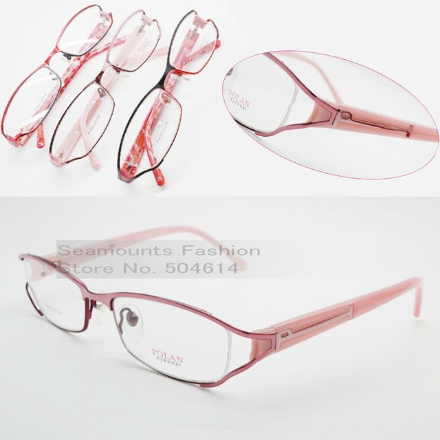 Fashion Metal Girl Latest Lady Optical Eyeglasses, 2012 Hot Selling Retail Eyewear Frame For Female