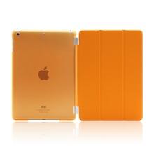 PU Leather Slim Magnetic Front Smart Cover Skin + Hard PC Back Case For ipad mini 1 2 retina(China (Mainland))