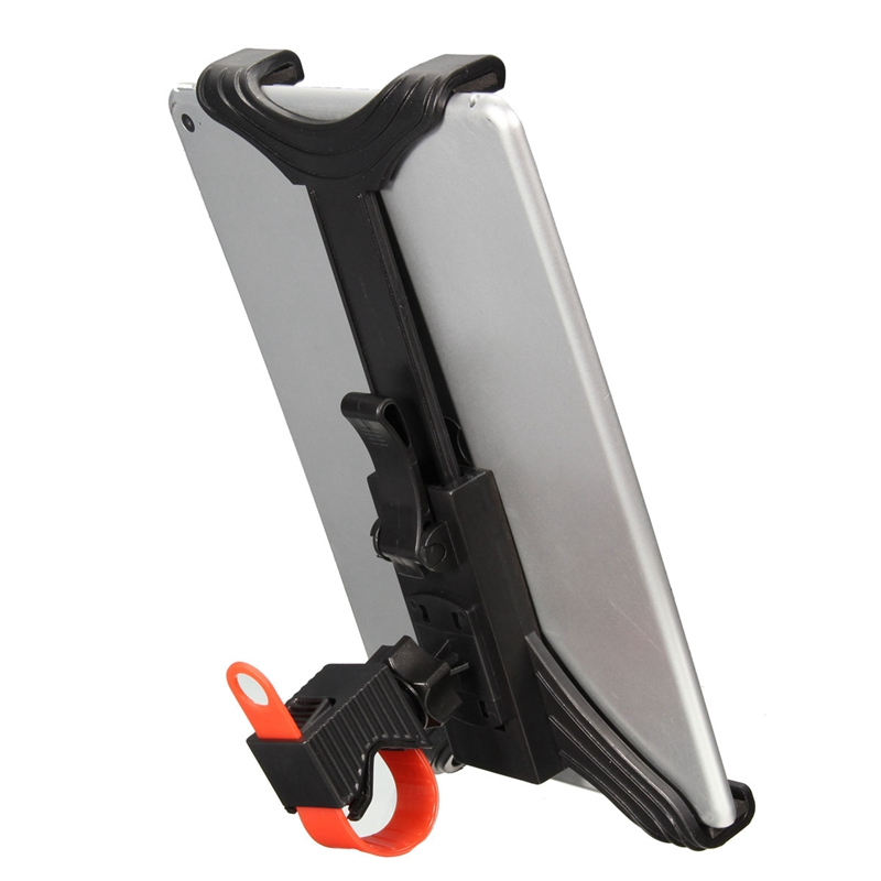 "7-11"" Adjustable Universal Microphone Stand Bicycle Handlebar Tablet Mount Holder For Ipad 4/3/2 For Google/Samsung Tab Holder(China (Mainland))"