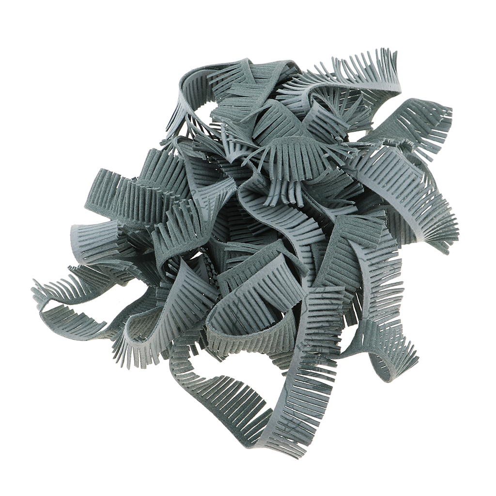 1.5cm Wide Tassel Fringe Trim Lace Ribbon 5m for Sewing Crafts Apparel Design Upholstery Couture and Most Decoration Projects