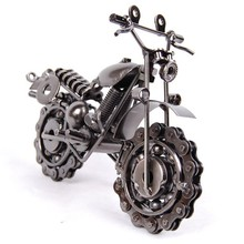 Metal model motorcycle novelty iron crafts decoration chain motorcycle fashion home decor(China (Mainland))