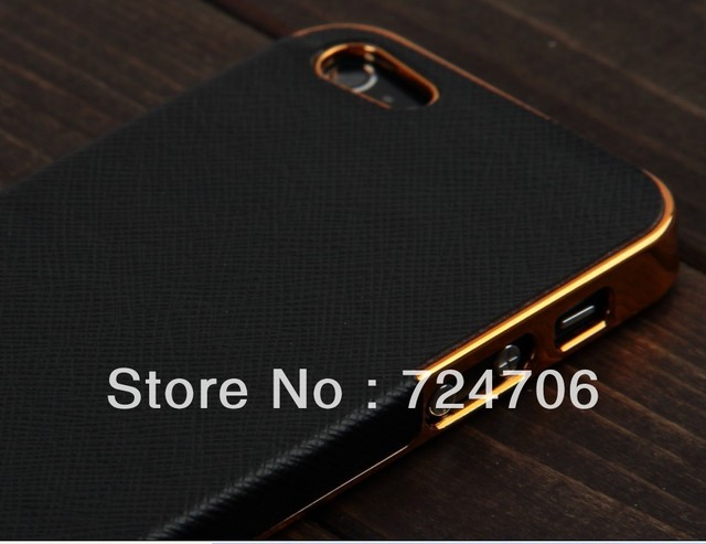 10pc/lot Ultra Slim Platinum Design Hard Case For iPhone 4S 4 luxury Phone Cover Accessory FREE SHIPPING