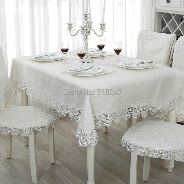 hei er verkauf elegant 100 polyester jacquard spitzen tischdecke f r hochzeitsgesellschaft. Black Bedroom Furniture Sets. Home Design Ideas