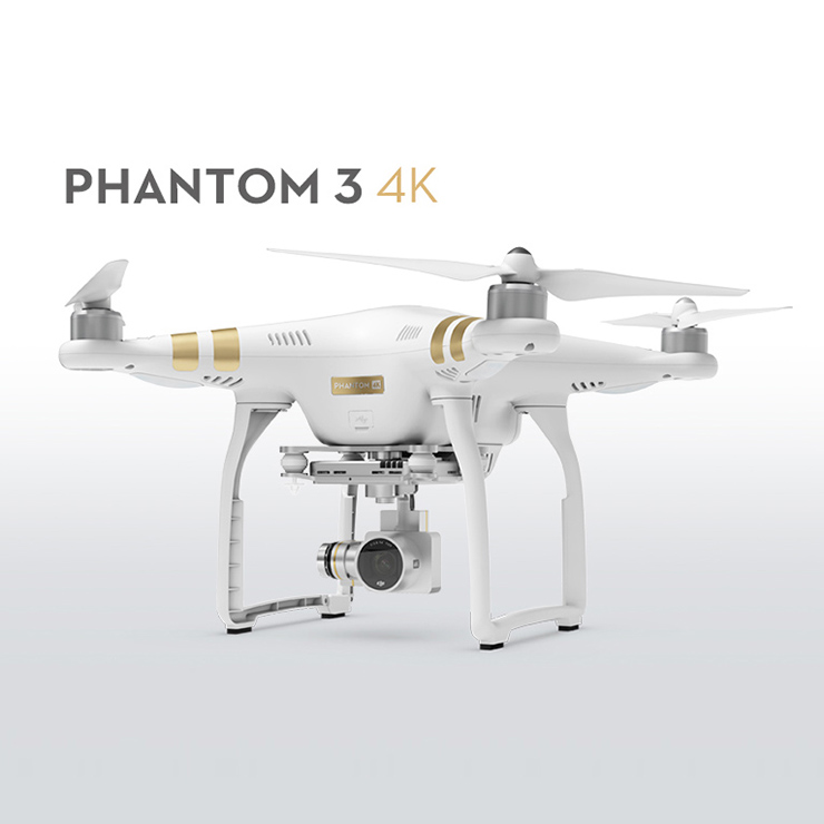Free Shipping 100% Original DJI Phantom 3 4K Version With 4K Camera RC Quadcopter RTF