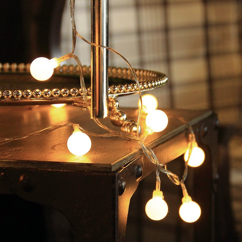 Indoor string lights for bedroom - Lights Globe String Lights For Christmas Partys Wedding Outoodr Indoor