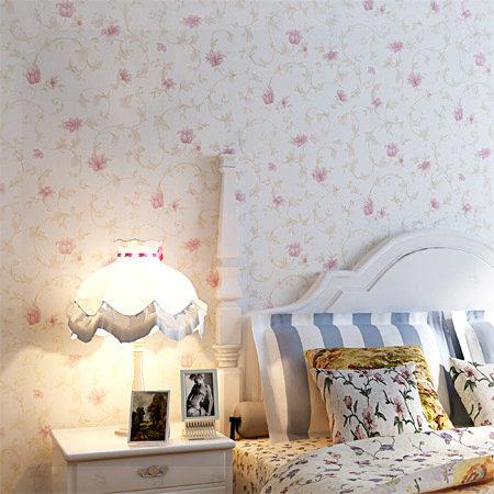 Caliente venta del papel pintado mural moderno pink europa - Papel pintado dormitorio moderno ...