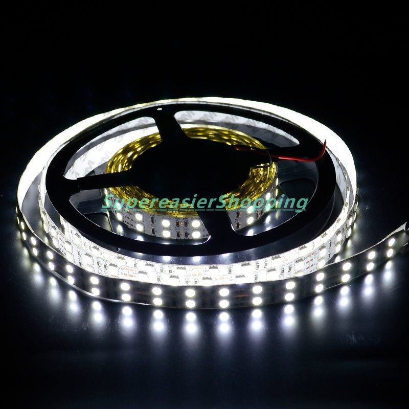 Bright Cool White Lighting 5M/roll Flexible LED Strip SMD 5050 120LEDs/m DC12V LEDs Lights Non-Waterproof Wholesale 100M#10076(China (Mainland))