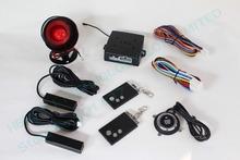 promotional RFID car alarm,smart key car security system, PKE antenna,blue back light push start button HY-904 RM1(China (Mainland))