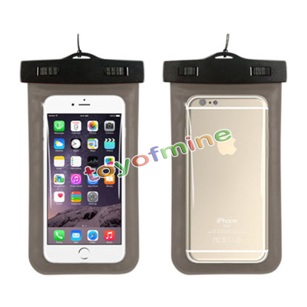 11PCS Clear Waterproof Underwater Pouch Dry Bag Case Cover For Smartphone Mobile Touchscreen(China (Mainland))