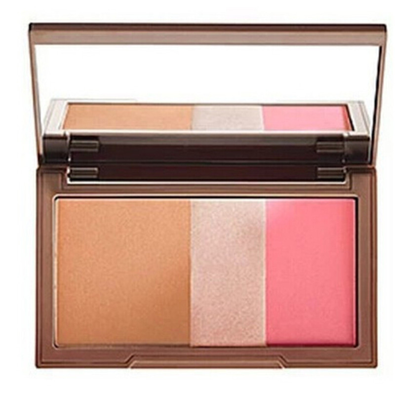 Maquiagem High Quality Naked Blusher Makeup Pressed Blush Palette Powder With Mirror Beauty(China (Mainland))