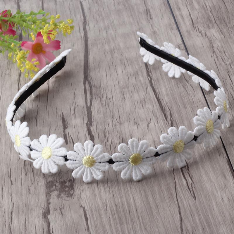 New Flower Hairband Girls Hair Accessories Small chrysanthemum Headband Children Hair Ornaments Sweet Princess Hair band(China (Mainland))