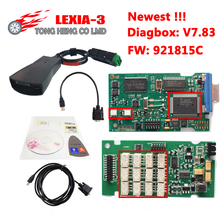 2017 Newest V7.83 with 921815C Firmware Lexia3 PP2000 V48/V25 Lexia 3 Diagbox 7.83 for Citroen for Peugeot Lexia-3(China (Mainland))