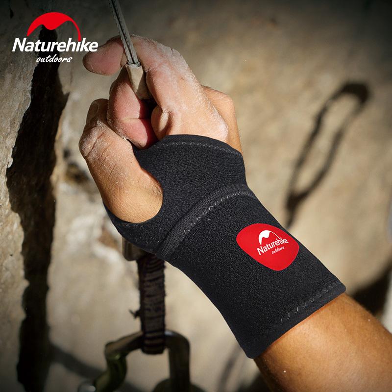 Adjustable Wrist Brace Support Wristband Thumb Wrist Fixed Wrist Joint Sport Wristband For Ball Games Running Fitness-NatureHike(China (Mainland))