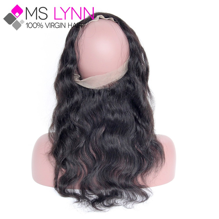 Peruvian Body Wave 360 Lace Frontal With Bundle,Soft Ear To Ear Lace Frontal Closure With Bundles 360 Frontal Human Hair Bundles