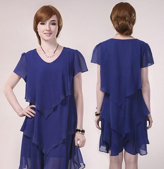 La mode des robes de france robe grande taille a volant - Robe d hotesse grande taille ...