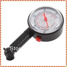1pc New Car Vehicle Motorcycle Tire Gauge Meter Pressure Tyre Measurement Tool Wholesale Dropshipping Brand New(China (Mainland))