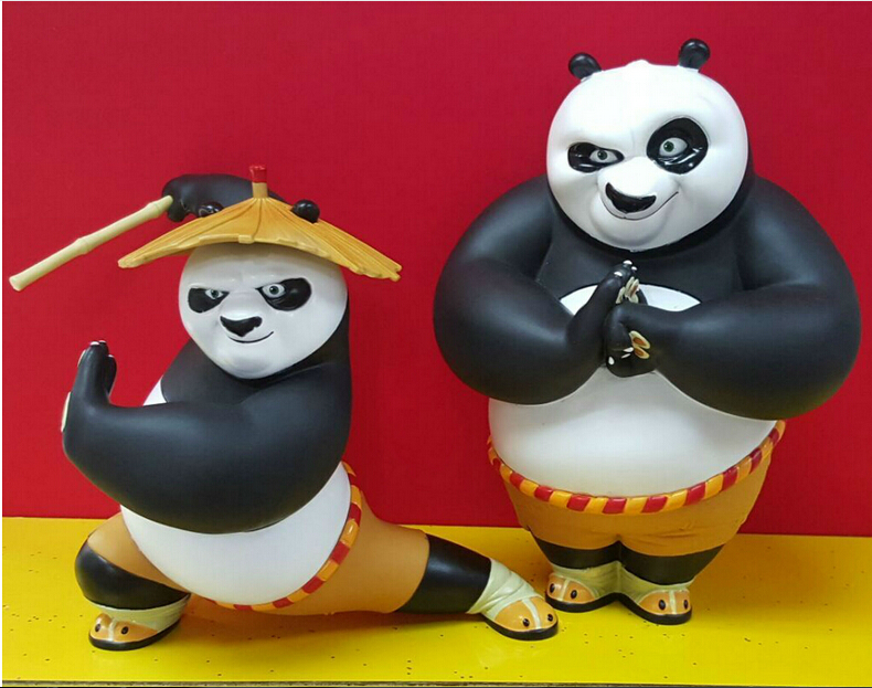 Kung Fu Panda 3 Figures 16cm /20cm Superman Figures Anime Movies Figures Collection Models Hot Toys Kids Gifts