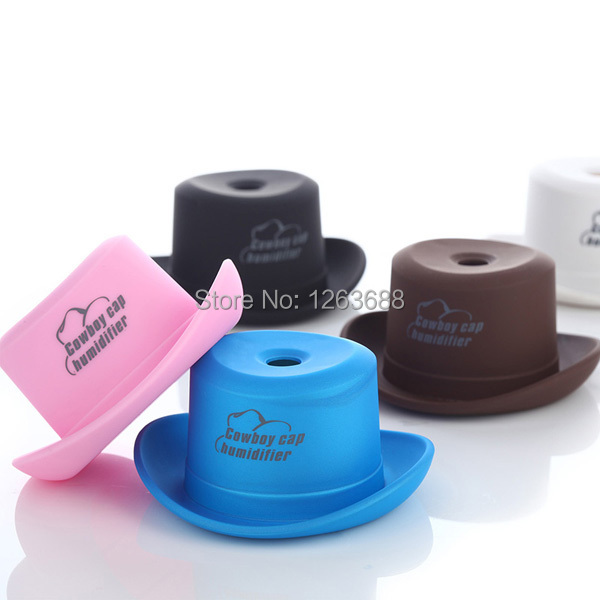 New Mini Water Bottle Portable Cowboy Hat USB Humidifier Water Bottle Cap Air Diffuser Mist Maker(China (Mainland))