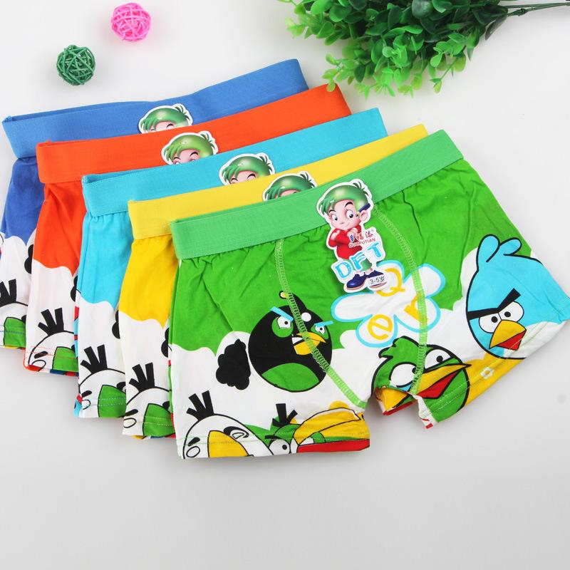 2016 Baby Boy Underwear Children Cotton Pants Kids Printed Cartoon Boy Boxer Panties Baby Clothing BU087 Children Briefs Clothes(China (Mainland))