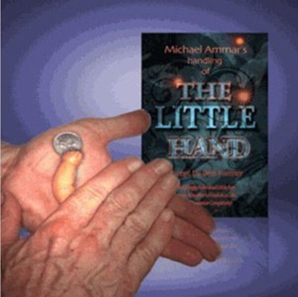 Free ship little hand Michael Ammar Magician Horror magic tricks illusion 1pcs/lot magician prop juegos de magia Fun Toys 82028(China (Mainland))