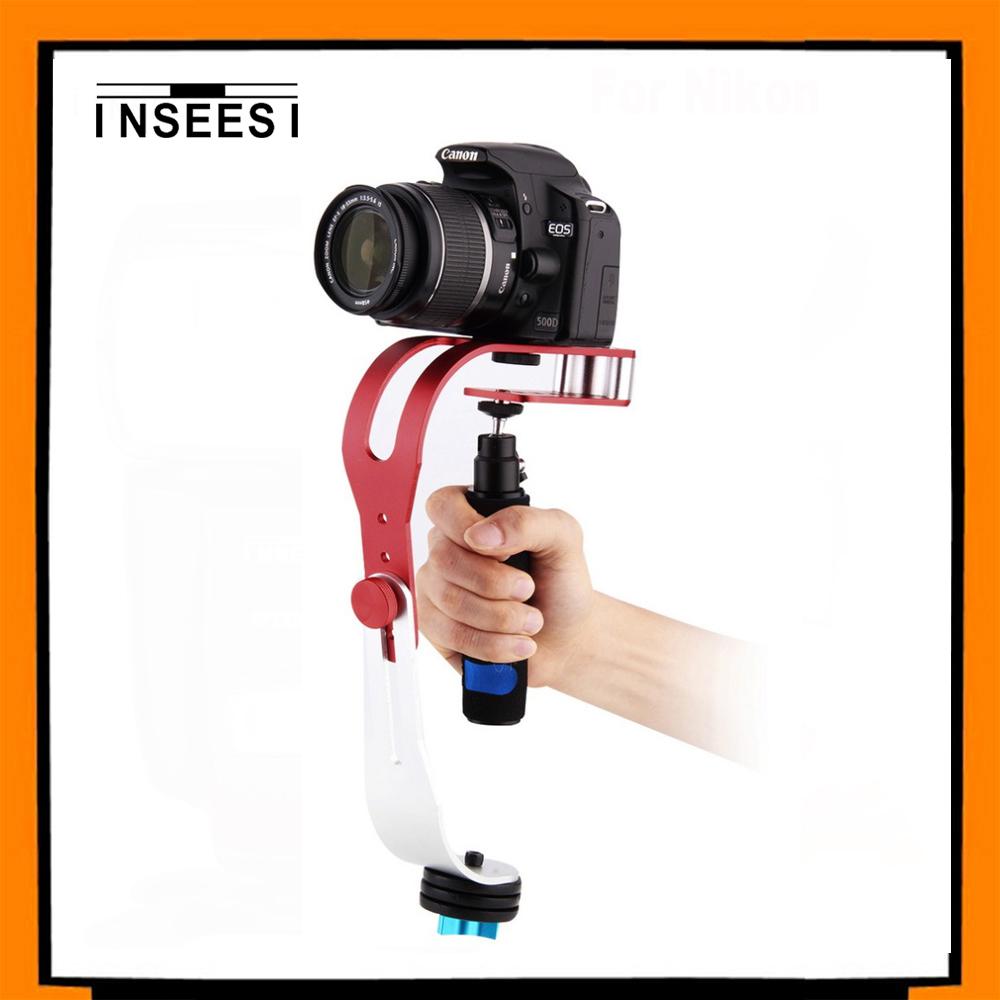 INSEESI PRO Tripod Heads Handheld Monopod Handheld Steadycam Video Stabilizer For Nikon Sony Digital Camera Camcorder DV DSLR(China (Mainland))
