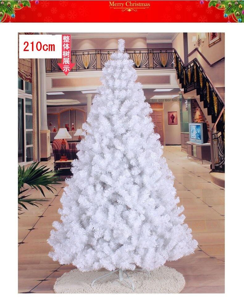 Искусственная новогодняя ель 210 см. фото