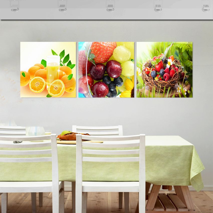 Popular fruits paintings sale buy cheap fruits paintings for Best brand of paint for kitchen cabinets with framed wall art sale