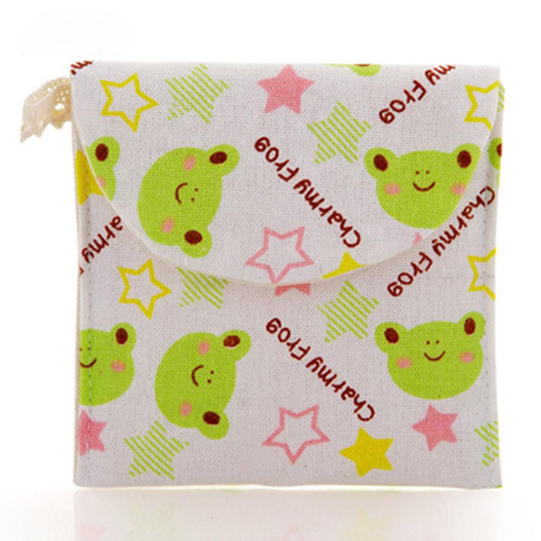 Cute Cotton hygiene kits Admission bag Napkins sanitary protection sanitary towel bag sanitary napkin Storage bags Cosmetic(China (Mainland))