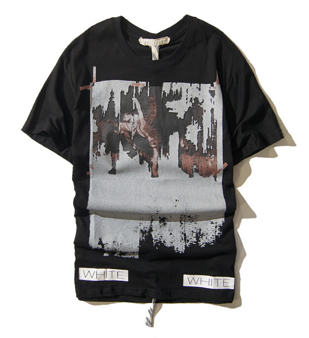 2016 summer off white virgil abloh kanye west religious for T shirt printing one off