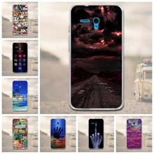 Buy Alcatel one touch fierce XL 5054 Cartoon Scenery Skin Printed TPU Soft Gel Case Cover Alcatel One touch Fierce XL 5054D for $1.37 in AliExpress store