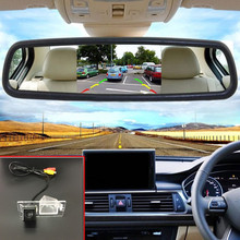 Buy Night Vision Car Parking Reverse Camera + 5'' Color TFT LCD Car Rearview Mirror Monitor Dodge Journey / JC / JCUV 2008~2015 for $53.94 in AliExpress store