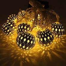 New Arrival 10 LED 1.2m Fairy String Lantern Lights Battery Operated Ball Star Heart Shape Home Christmas Garden Decoration Lamp(China (Mainland))