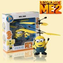 Movie Character RC Minions Aircraft Induction Helicopter Kid Toys Xmas Gift(China (Mainland))