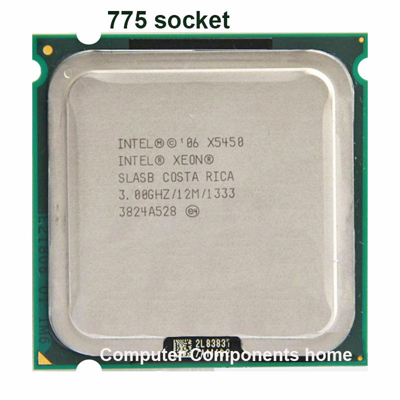 INTEL XONE X5450 LGA 775 Processor 771 to 775 (3.0GHz/12MB/Quad Core)close to LGA775 work on 775 motherboard warranty 1 year(China (Mainland))