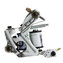 10 Wrap Coils Permanent Tattoo Machine Shader & Liner Carbon Steel Rotary Assorted Tatoo Motor Gun Instrument Tools(China (Mainland))