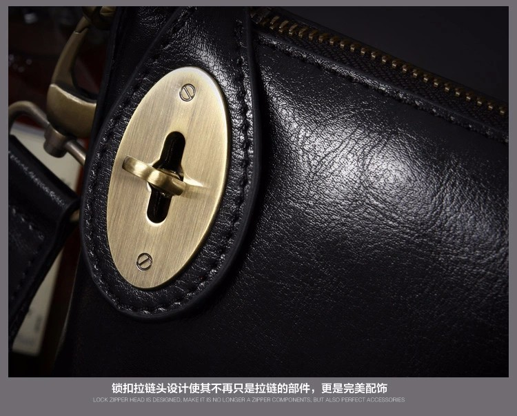 Free Shipping [2 Colors] Genuine Leather  Men Messenger Bags, Genuine Leather Bags,   Fashion Men Bags #1216