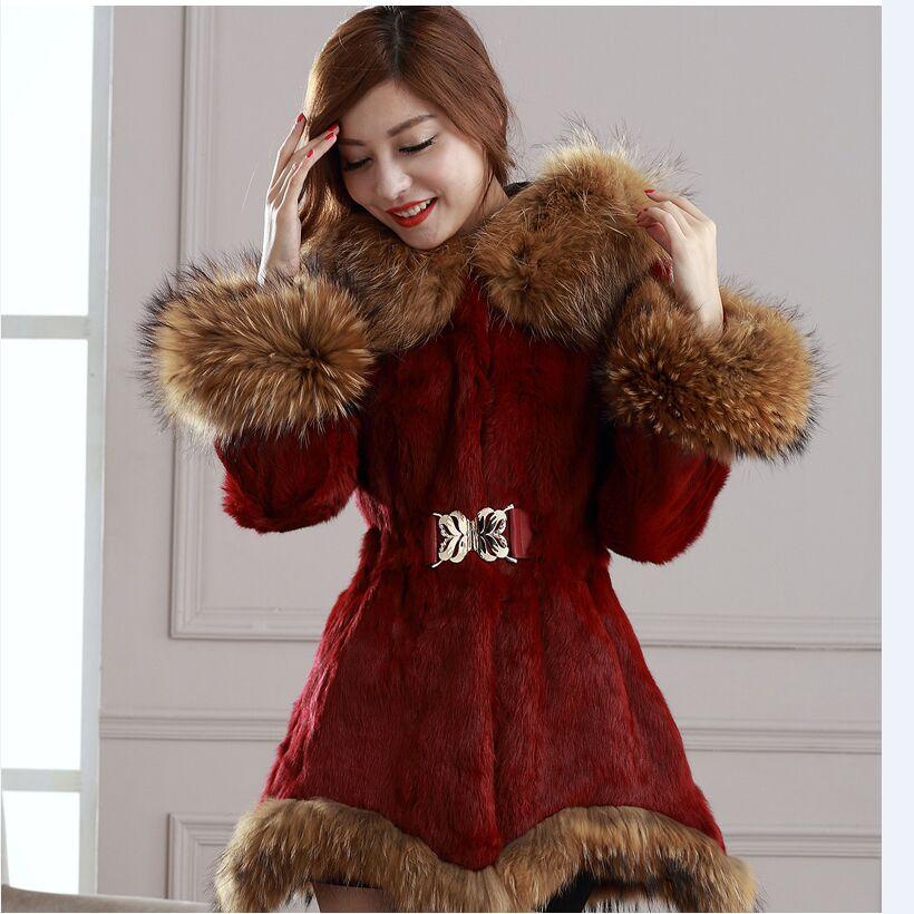 Зимняя Меховая Женская Одежда