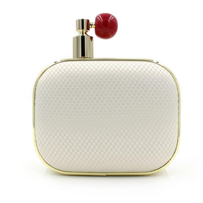 2016 Women Perfume Bottle Day Clutch Purse Fashion evening bag Famous Brand Small Handbag High Quality Chians Shoulder bag 474D(China (Mainland))
