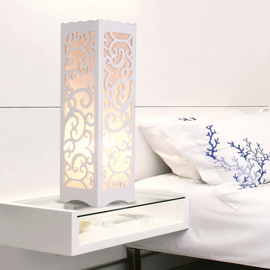 Buy Decorative Table Lamp Wood Plastic