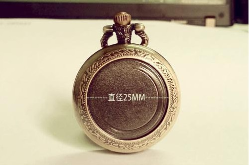 FG-108 Free Shopping Pocket watch wholesale antique fashion High Quality retro alloy DIY pocket watch(China (Mainland))