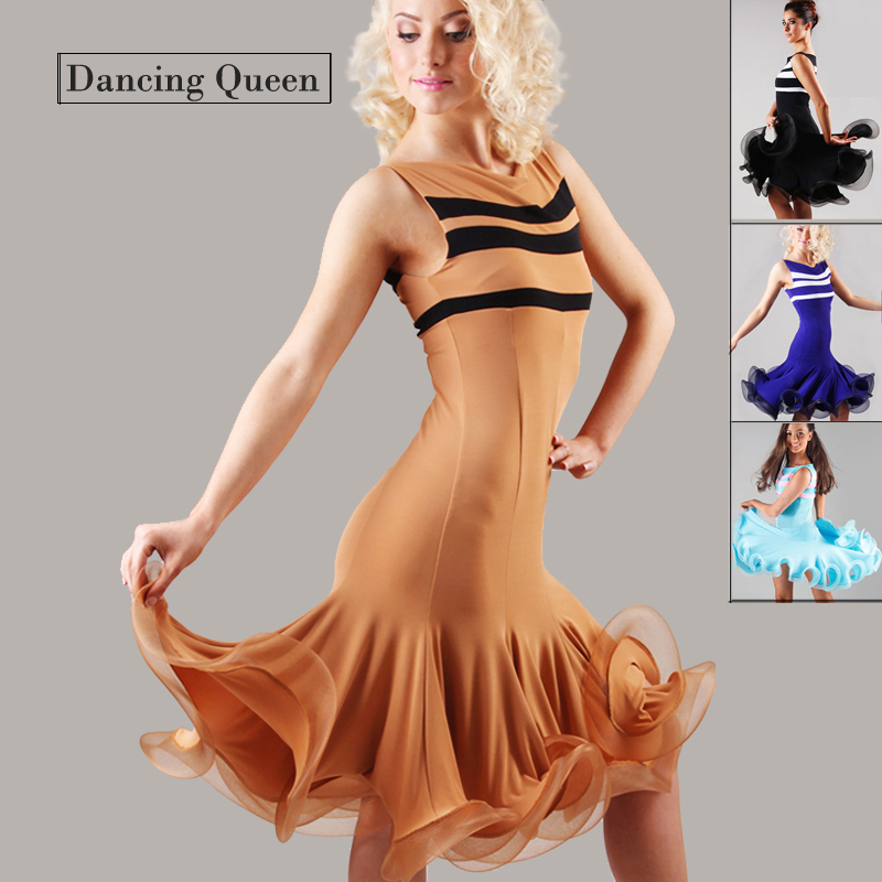 2015 New Arrival Lady Ballroom Dance Dress Latin Costume Dance Latine For Women Vestidos De Baile Latino Tango/Rumba/Samba SkirtОдежда и ак�е��уары<br><br><br>Aliexpress