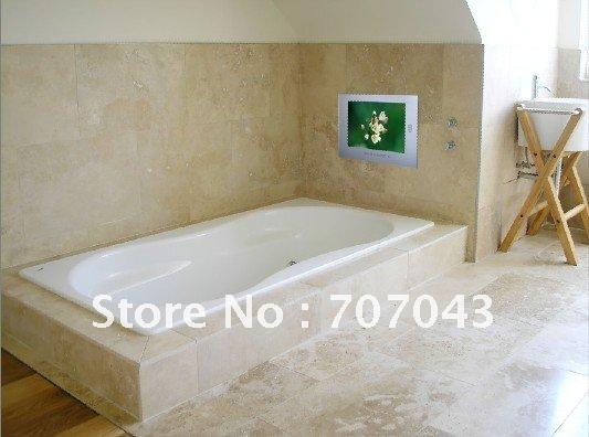 Free Shipping 26 Inch Mirror Bathroom TV Waterproof LCD